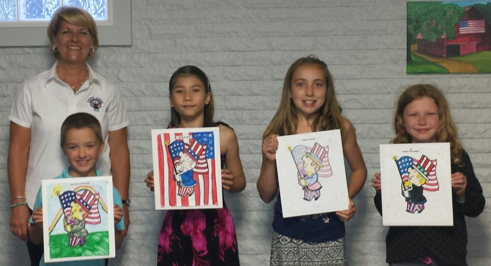 Barre Elks Lodge Americanism committee holds a coloring ...