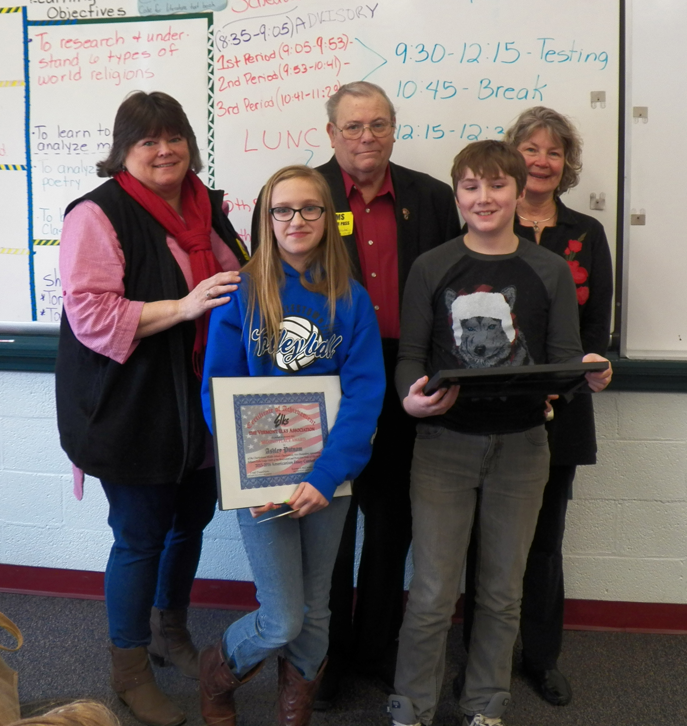 Elks Essay Americanism Contest Winners 2014
